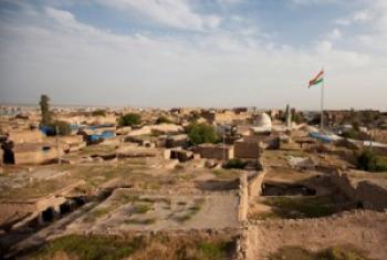 En Iraq, la ville d'Erbil et ses sites archéologiques (2011).