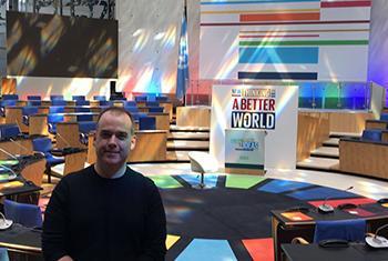 Mitchell Toomey, Directeur de la Campagne d'action pour les ODD de l'ONU