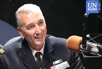 Brigadier Général Georges Pierre Monchotte, Commissaire de police de la MINUSTAH, la Mission de l'ONU en Haïti. -