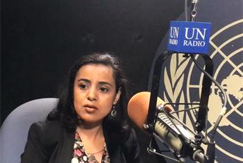 Mariam Wallet Aboubacrine, Présidente de la dix-septième session de l'Instance permanente des Nations Unies sur les questions autochtones (Image: ONU/C.Silveiro)