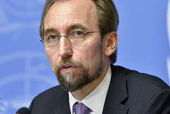 Le Haut-Commissaire des Nations Unies aux droits de l'homme, Zeid Ra'ad Al Hussein -