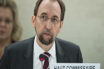 Zeid Ra'ad Al Hussein, Haut- Commissaire aux droits de l'homme de l'ONU (