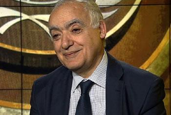 Ghassan Salamé, Représentant spécial du Secrétaire général pour la Libye. ( Capture d'écran)
