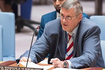 Ján Kubiš, Représentant spécial du Secrétaire général des Nations Unies en Iraq (Crédit photo/ONU Eskinder Debebe)