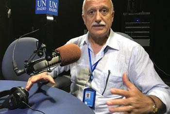 Arab Hoballah, Directeur exécutif de SEED, promouvoir l'entreprenariat pour le développement durable (Crédit photo : ONU/Jérôme Longué)