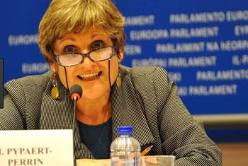 Isabelle Pypaert-Perrin, Directrice générale d'ATD Quart Monde (Crédit photo : ATD Quart Monde)