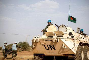 Des Casques bleus au Mali  (archives).
