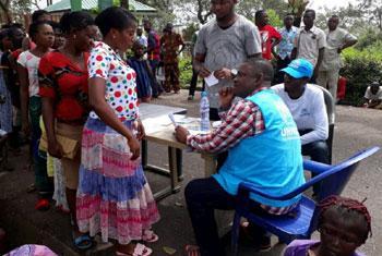 Des Camerounais fuient les repressions séparatistes pour se réfugier au Nigéria (Crédit : © UNHCR photo)