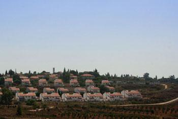 Halamish, une colonie israélienne, au nord de la Cisjordanie, près du village palestinien de Nabih Saleh. Photo UNICEF/Mouhssine Ennaimi (archives)