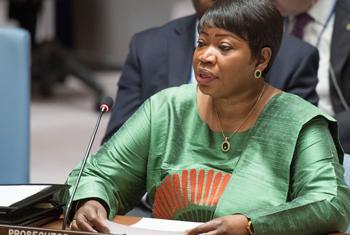 Fatou Bensouda, la Procureure de la Cour pénale internationale. (
