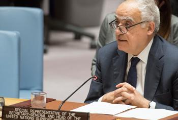 Ghassan Salamé, Représentant spécial du Secrétaire général et Chef de la Mission d'appui des Nations Unies en Libye (MANUL), informe le Conseil de sécurité.