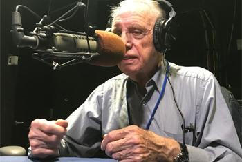 Robert Kaminer, ancien fonctionnaire de l'ONU. (