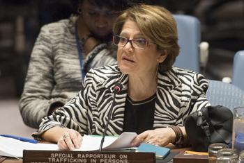 Maria Grazia Giammarinaro, Rapporteure spéciale de l'ONU sur la traite des personnes (