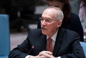 Edmond Mulet, chef du Mécanisme d'enquête conjoint de l'ONU et de l'OIAC sur l'utilisation d'armes chimiques en Syrie (archive).
