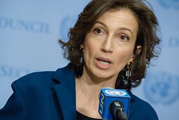 Audrey Azoulay, Directrice générale élue de l'Organisation des Nations Unies pour l'éducation, la science et la culture (mars 2017).
