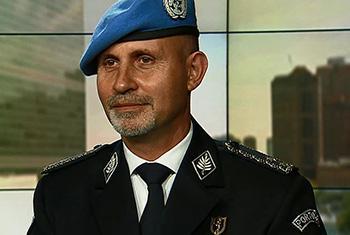 Luís Carrilho, Conseiller pour les questions de police des Nations Unies au Département des opérations de maintien de la paix (Photo ONU)