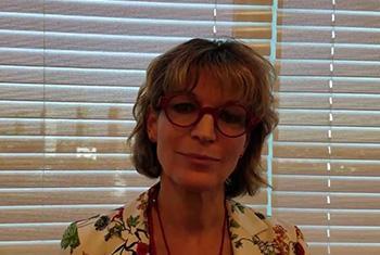 Agnès Callamard, Rapporteuse spéciale sur les exécutions extrajudiciaires, sommaires ou arbitraries (Crédit photo : Florence Westergard)