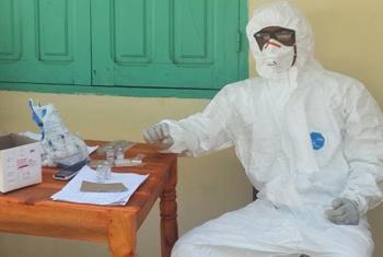 Remise d'équipements de protections individuelles de #OMS au MINSANP, pour les agents de santé en riposte à la #peste à #Madagascar.(