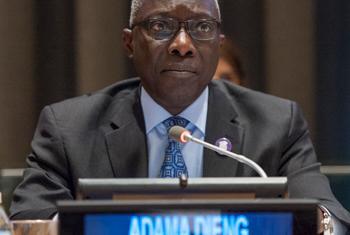 Le Conseiller spécial pour la prévention du génocide, Adma Dieng. (Photo : ONU/ Cia Pak)