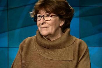 Louise Arbour, Représentante spéciale de l'ONU pour les migrations (Crédit photo : ONU/saisie d'écran)