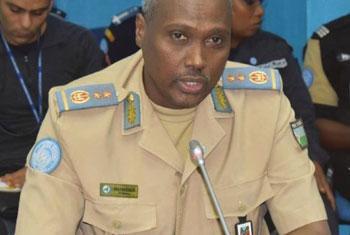 Le général Awalé Abdounasir, commandant de la Police de la MONUSCO en RDC (Crédit photo : MONUSCO)