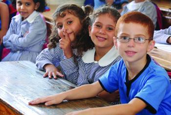 Des enfants palestiniens réfugiés vont à l'école grâce à l'UNRWA (archives). Photo UNRWA
