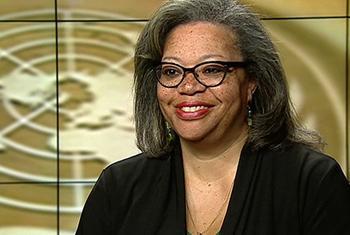 Susan Page, cheffe de la Mission des Nations Unies pour le soutien à la justice en Haïti (MINUJUSTH). (Saisie d'écran: ONU)