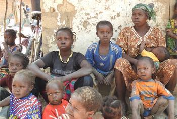 Au cours des trois dernières semaines quelques 60.000 personnes sont venues se réfugier à Paoua, en République centrafricaine, fuyant les affrontements entre les groupes armés. (