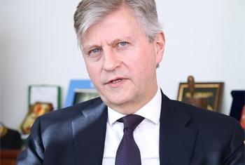 Jean-Pierre Lacroix, Secrétaire général adjoint aux opérations de maintien de la paix. (Saisie d'écran : Nam Cho)