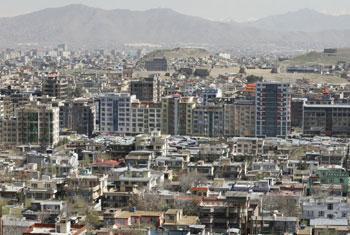 Kaboul, capitale de l'Afghanistan. Photo MANUA/Fardin Waezi
