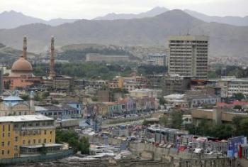 Une vue de Kaboul, la capitale de l'Afghanistan.