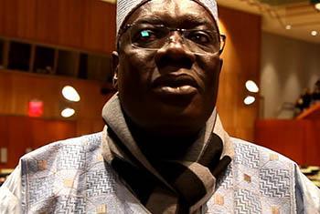 Mounouna Foutsou, Ministre de la jeunesse et de l'éducation civique du Cameroun (Crédit photo/ONU : Alban Mendes de Leon)