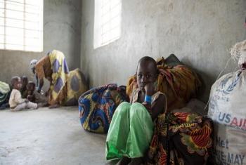 Des réfugiés congolais dans un centre de réception en Ouganda (