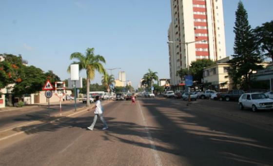 Rua em Maputo, Moçambique. Foto: ONU-Habitat