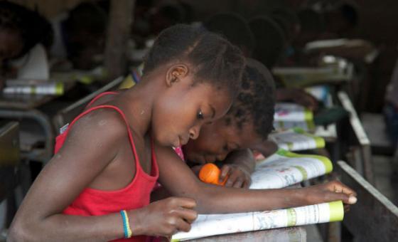 Escola primária em Moçambique. Foto: Unicef Moçambique