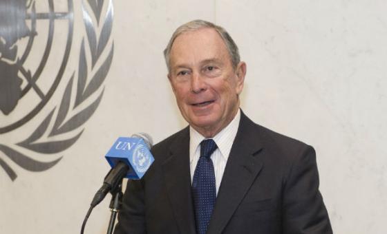 Michael Bloomberg. Foto: ONU/Eskinder Debebe