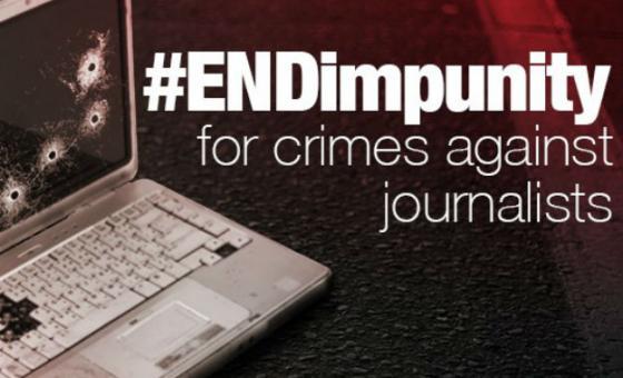 Dia Internacional pelo Fim da Impunidade para Crimes contra Jornalistas.Imagem: Unesco