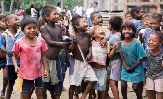 Deslocados internos, vítimas do conflito na Colômbia. Foto: ONU/Mark Garten