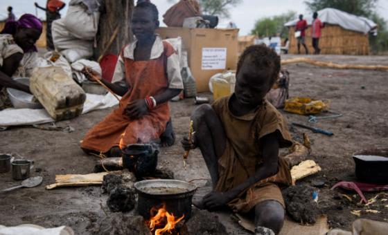 Crianças no Sudão do Sul. Foto: © UNICEF/UN066015/Hatcher-Moore (arquivo)