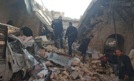 Conflito na Siria causou destruição do sistema de saúde. Foto: OMS