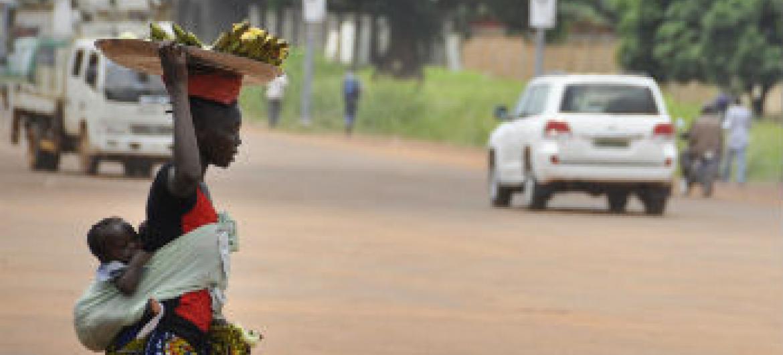Bangui. Foto: ONU/Serge Nya-Nana