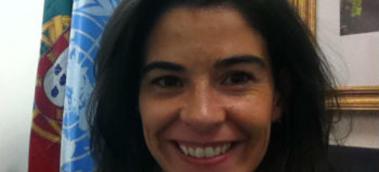 Elisabete Cortes Palma, diplomata da Missão de Portugal junto à ONU. Foto: Arquivo pessoal