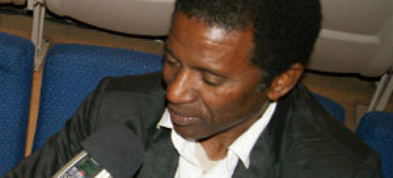 Zé Manel, fundador da banda Super Mama Djombo
