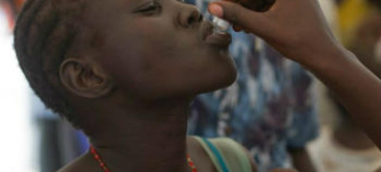 Vacinas orais são eficazes. Foto: OMS/A. Ngethi