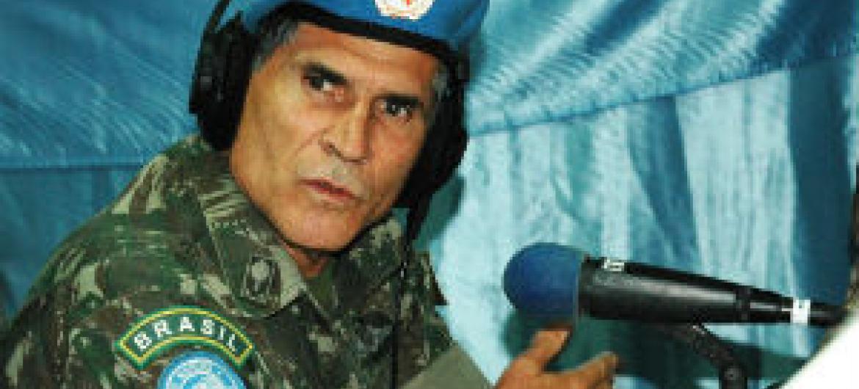 Calos Alberto dos Santos Cruz. Foto: ONU/Clara Padovan