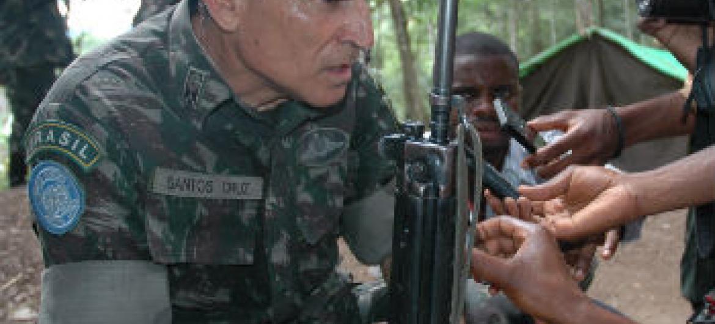 Carlos Alberto dos Santos Cruz. Foto: ONU/Clara Padovan