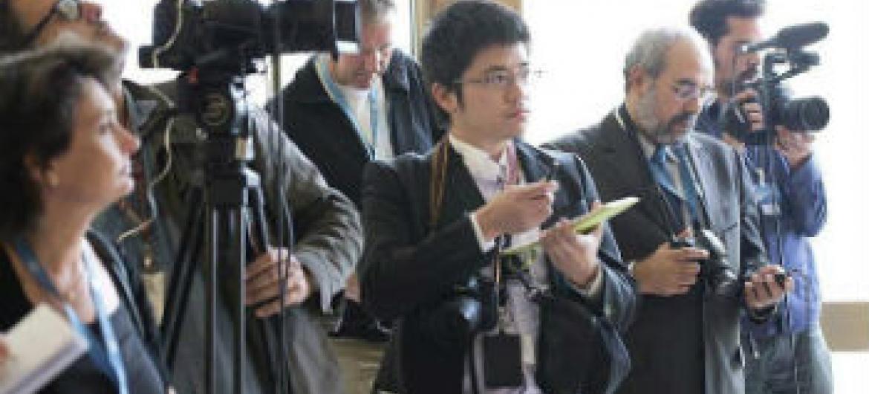 Unesco defende liberdade de imprensa. Foto: ONU/