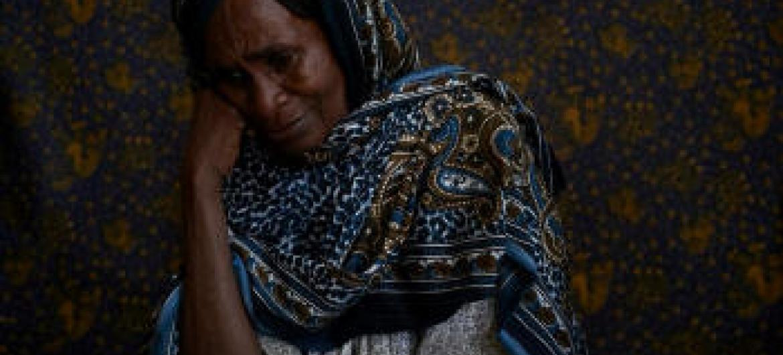 Mulher refugiada na República Centro-Africana. Foto: Acnur/Sam Phelps