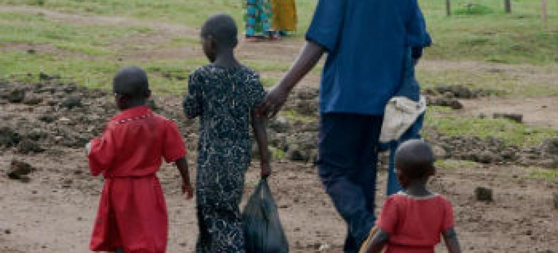 Angola acolhe refugiados da RD Congo. Foto: Acnur/L. Beck