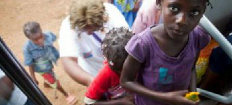 Existem mais de 15 mil refugiados em Angola. Foto: Acnur/G.Dubourthoumieu